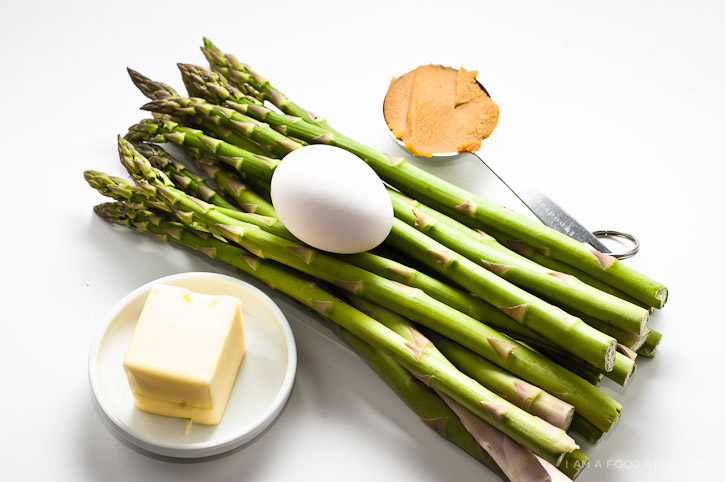 ... asparagus recipe pan roasted asparagus with miso butter the dish