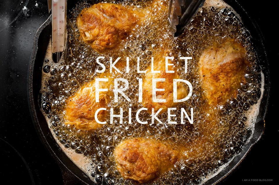 Skillet Fried Chicken Recipe I Am A Food Blog I Am A Food Blog
