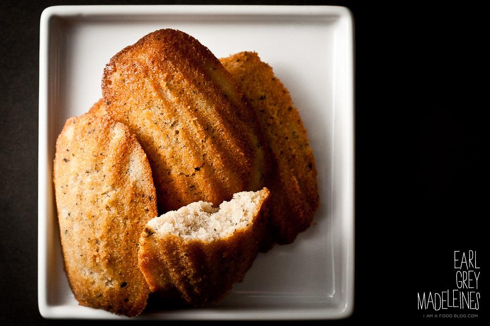 Earl Grey Madeleines Recipe · i am a food blog i am a food