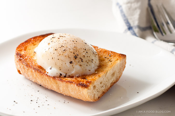 how to fix poached eggs