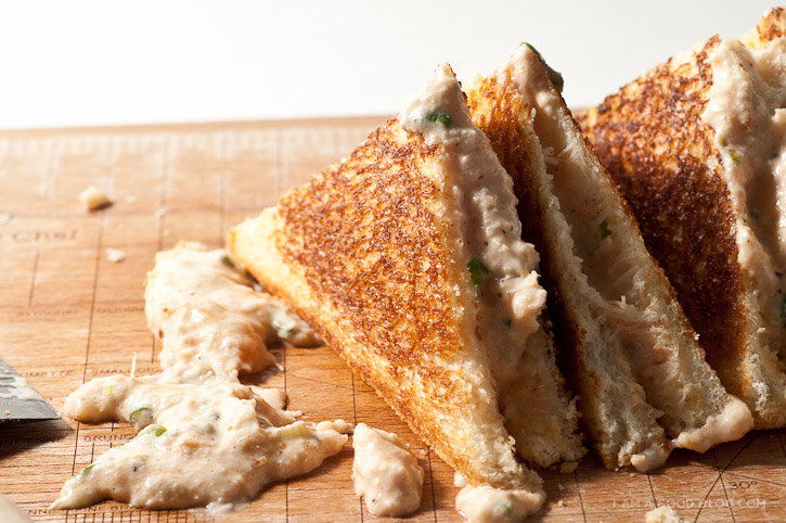 Crab grilled cheese recipe