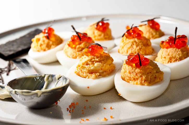 Triple Deviled Egg Recipe