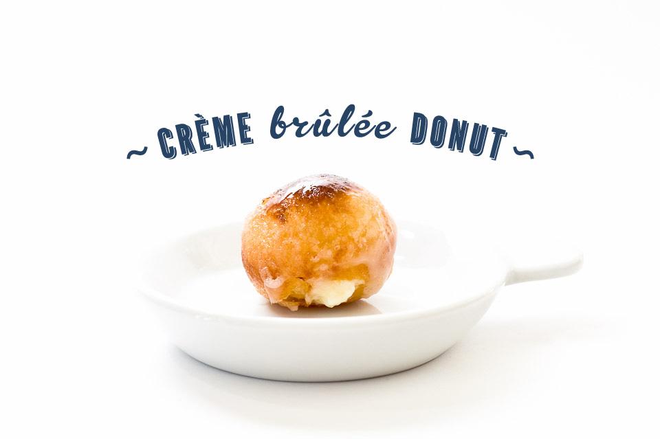 Crème Brûlée Doughnut Recipe