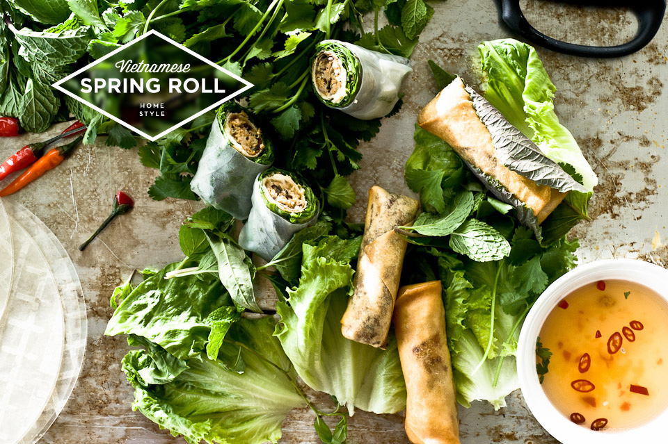 Vietnamese Spring Roll Recipe · i am a food blog