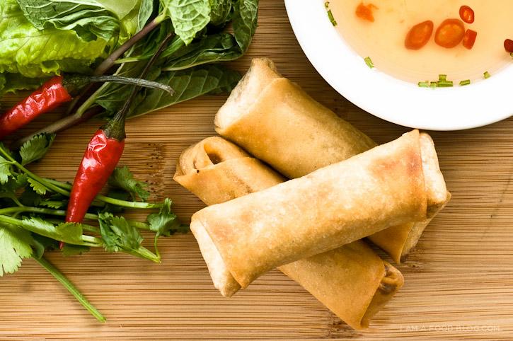 Vietnamese Spring Roll Recipe I Am A Food Blog I Am A Food Blog