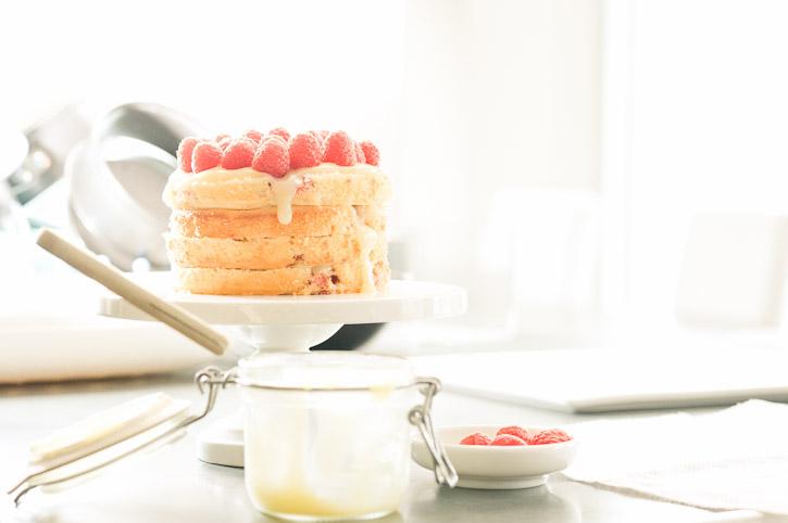 Raspberry Lemon Cake Recipe I Am A Food Blog I Am A Food Blog