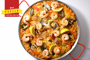 Mixed Paella | www.iamafoodblog.com