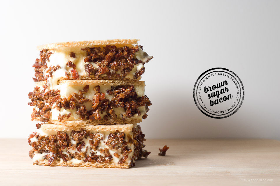 Brown Sugar Bacon Ice Cream Sandwich Recipe