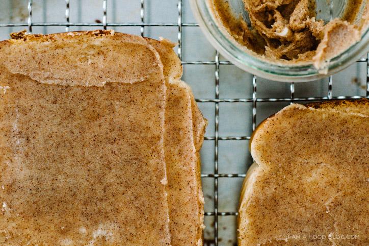 best ever cinnamon toast recipe www.iamafoodblog.com