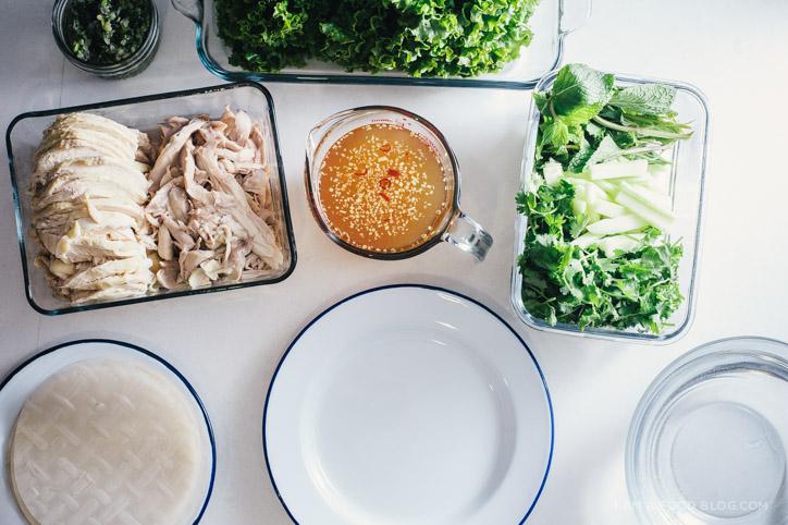chicken summer roll recipe - i am a food blog
