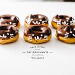 cat doughnut recipe - www.iamafoodblog.com