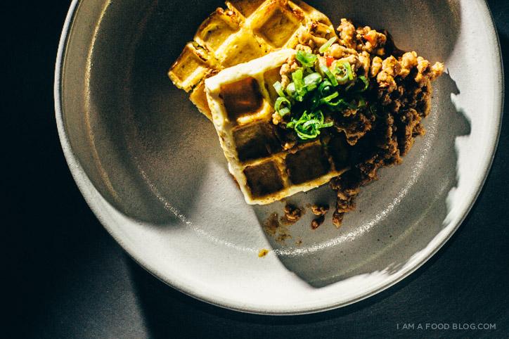 mapo tofu waffle recipe - www.iamafoodblog.com