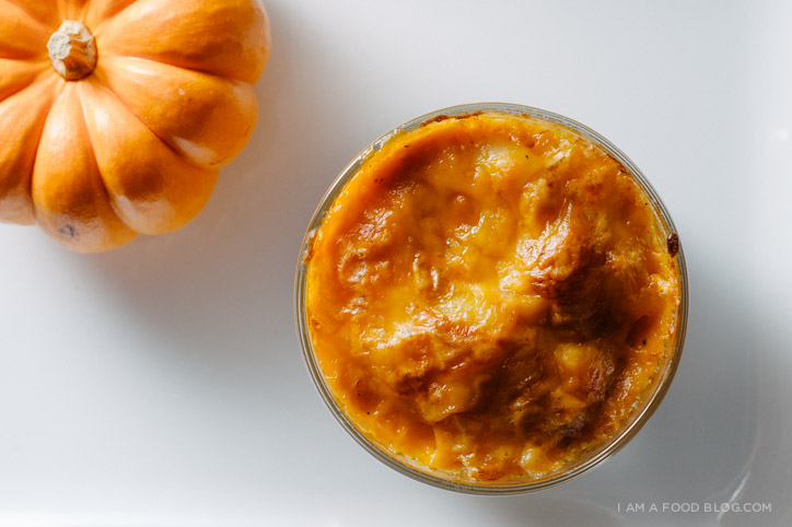 pumpkin mac and cheese recipe - www.iamafoodblog.com