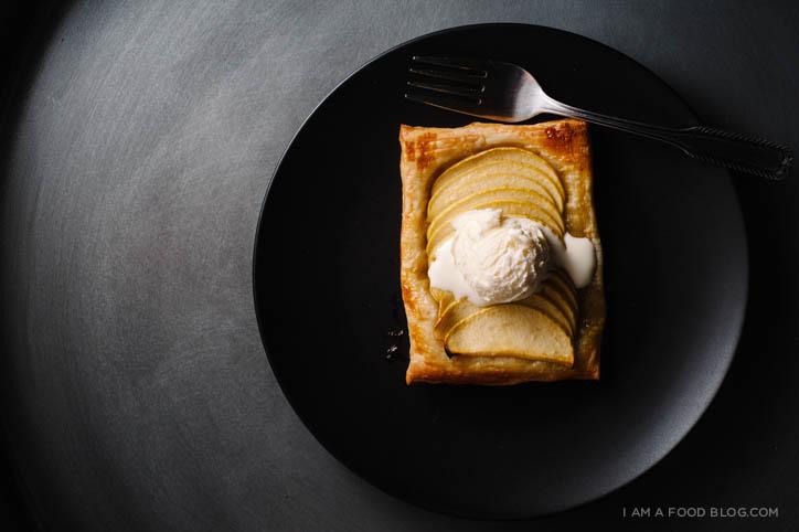 easy apple tart recipe - www.iamafoodblog.com