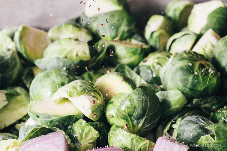 oven roasted brussel sprouts with fish sauce recipe