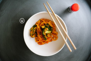 pumpkin curry udon recipe - www.iamafoodblog.com