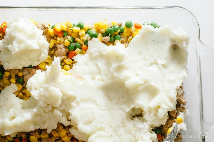 turkey shepherd's pie recipe - www.iamafoodblog.com