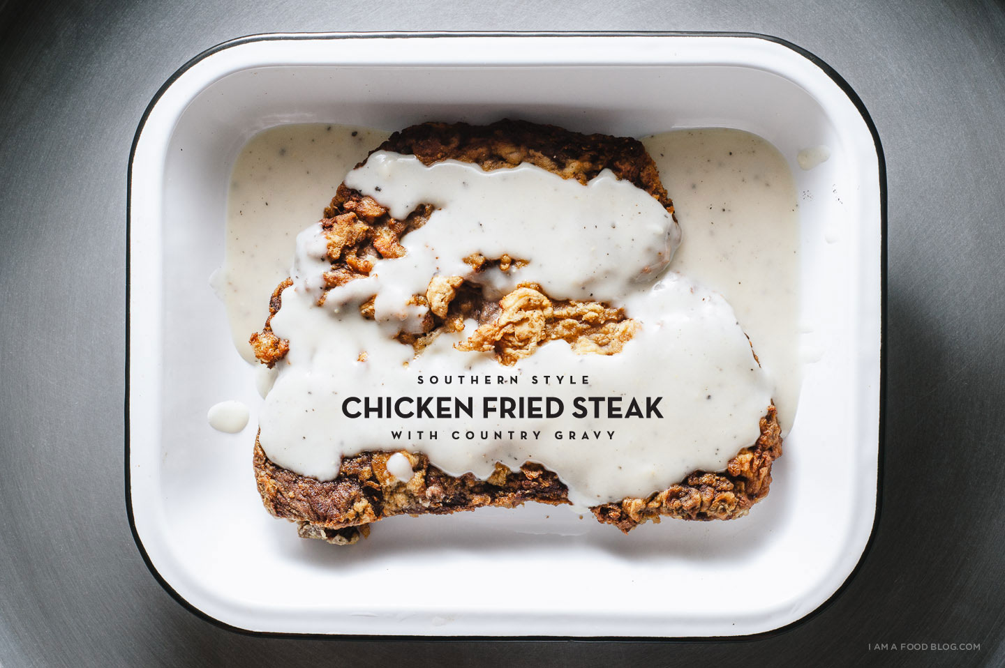 chicken fried steak recipe - www.iamafoodblog.com