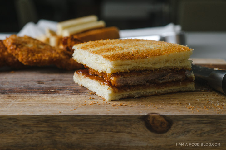 tonkatsu sandwich recipe - www.iamafoodblog.com