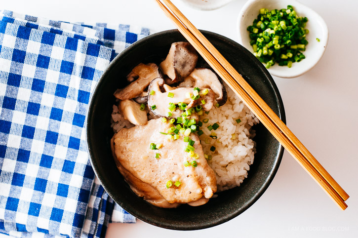 miso coconut chicken recipe - www.iamafoodblog.com