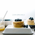 Blueberry Lemon Mini Crêpe Cake Recipe