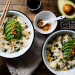 green bean avocado fried rice recipe - www.iamafoodblog.com