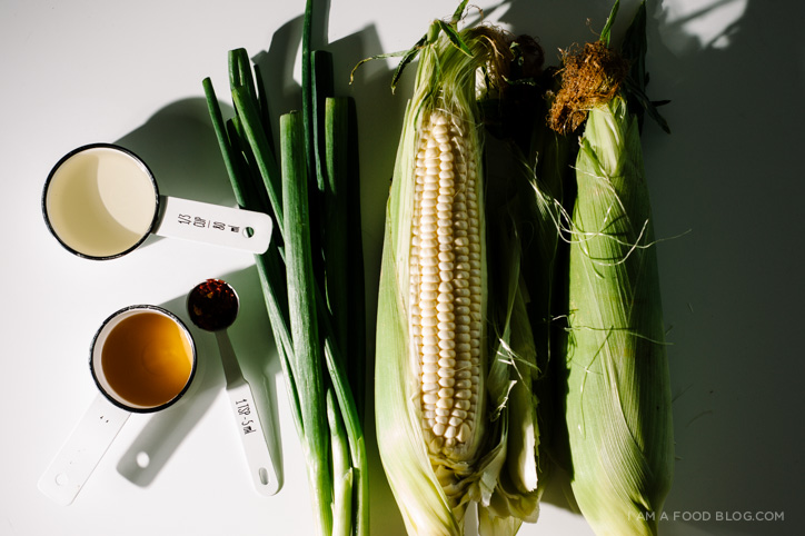 grilled corn recipe - www.iamafoodblog.com