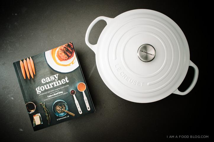 easy gourmet & le creuset giveaway -www.iamafoodblog.com