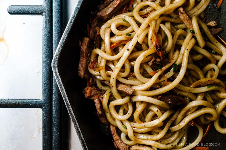 yakiudon recipe - www.iamafoodblog.com