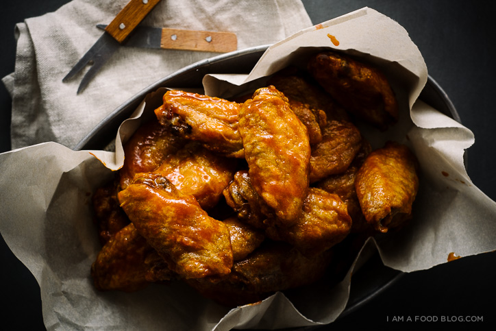 The best of 2014 a recipe round up i am a food blog i am a sriracha buffalo wing recipe iamafoodblog forumfinder Image collections