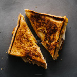 apple cheddar grilled cheese recipe - www.iamafoodblog.com