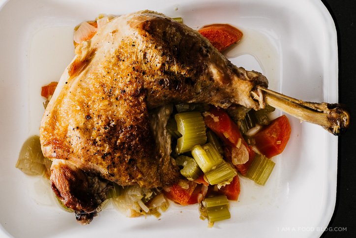 lemongrass braised turkey leg recipe - www.iamafoodblog.com