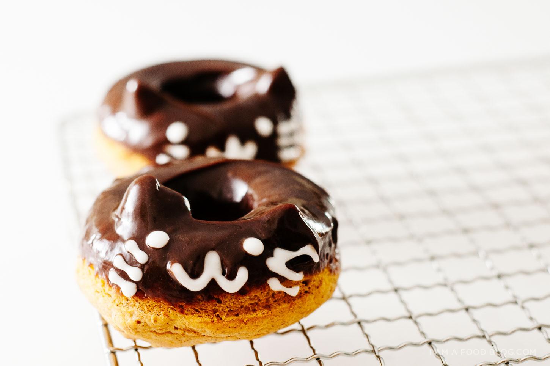 pumpkin cat donut recipe - www.iamafoodblog.com