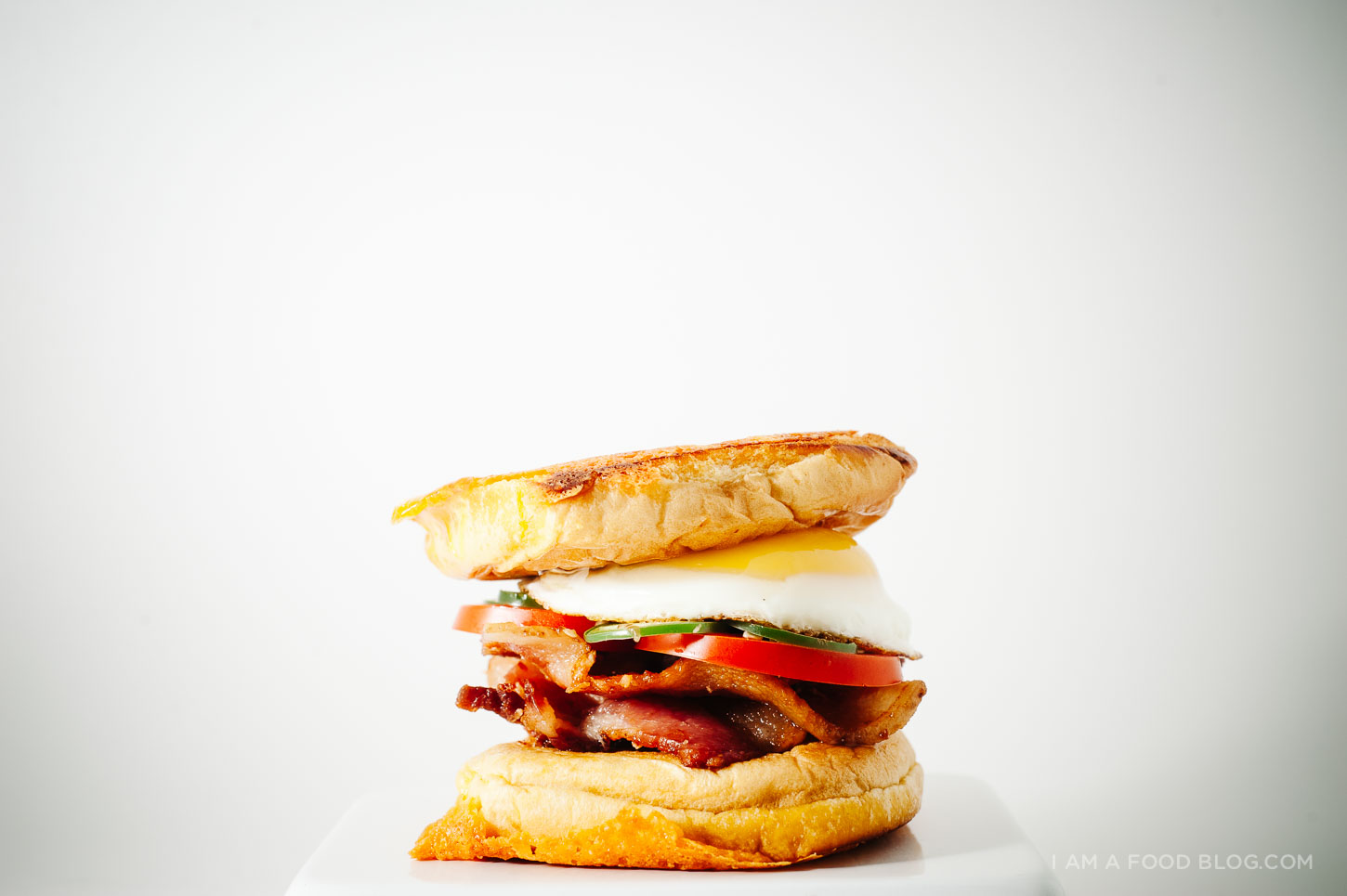 breakfast grilled cheese recipe - www.iamafoodblog.com