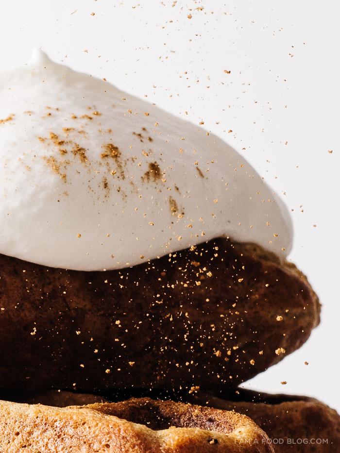 gingerbread waffles recipe - www.iamafoodblog.com