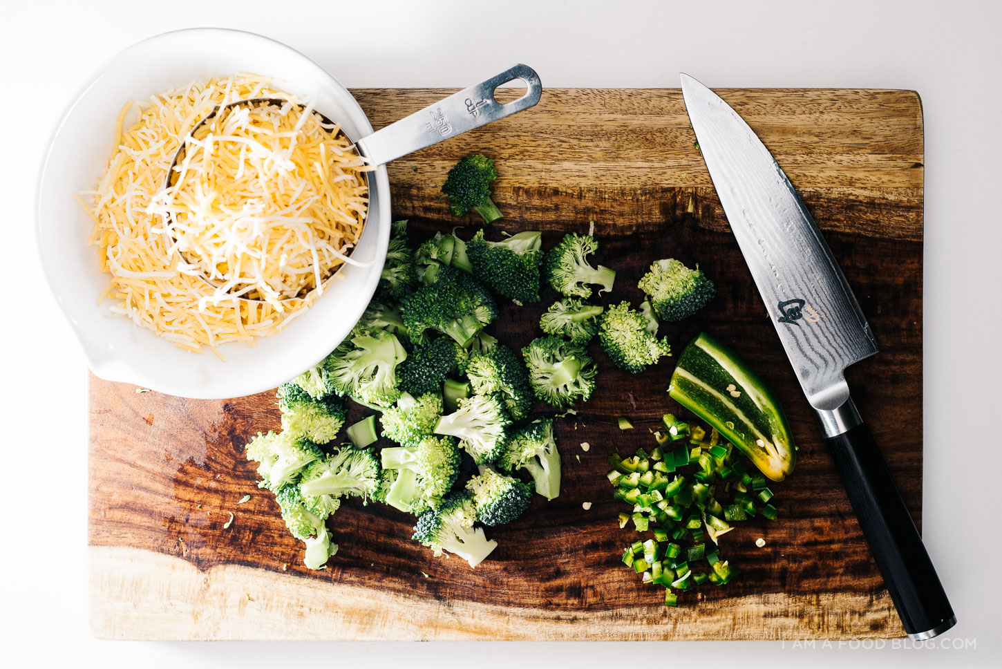 jalapeno broccoli mac and cheese recipe - www.iamafoodblog.com