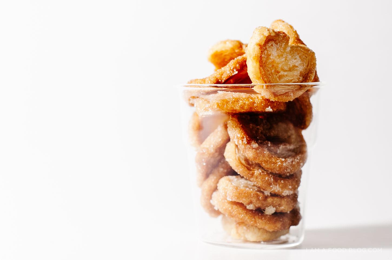 mini palmier recipe - www.iamafoodblog.com
