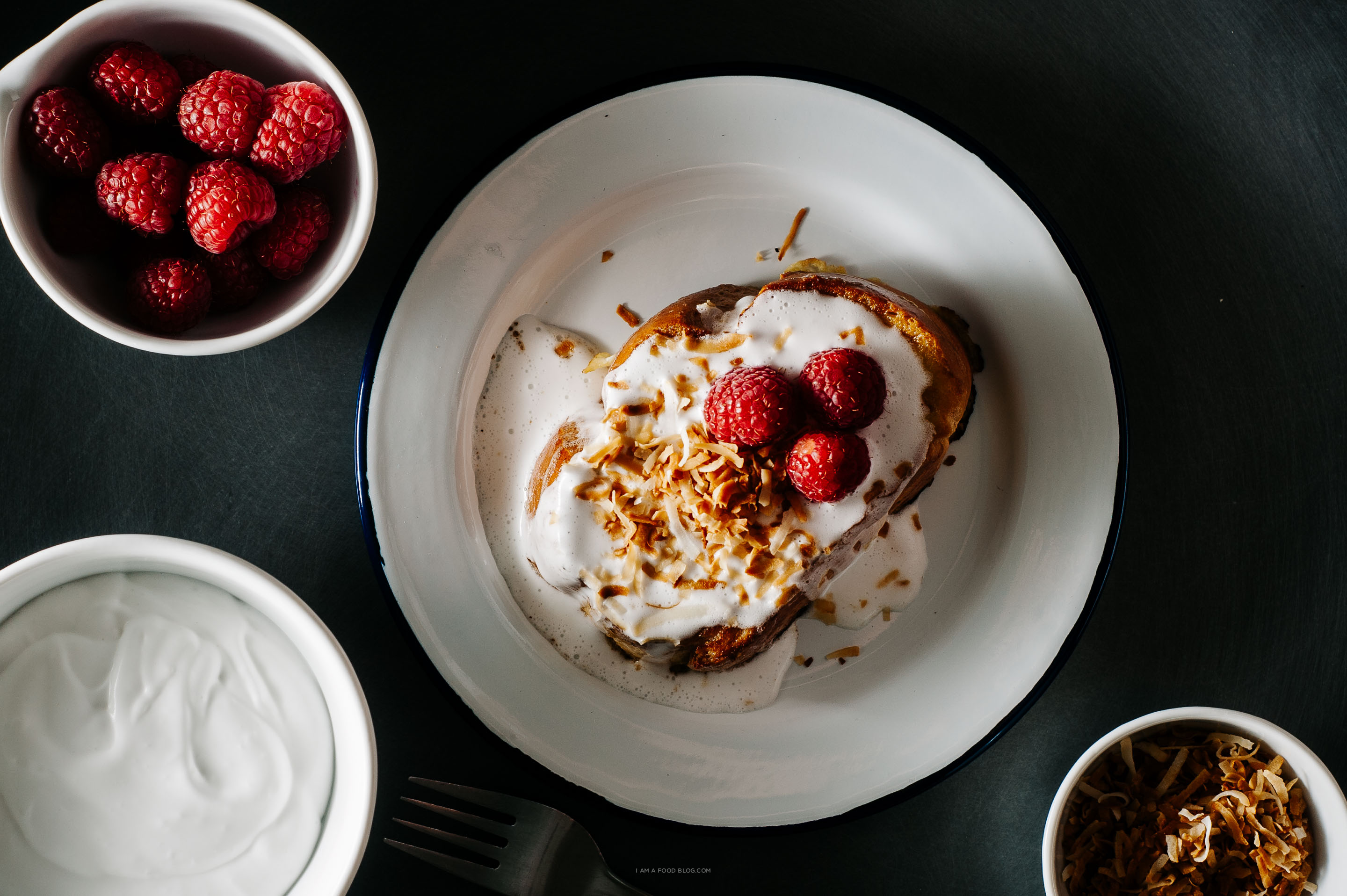 coconut tres leches french toast recipe - www.iamafoodblog.com