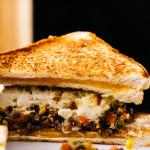 shepherd's pie grilled cheese - www.iamafoodblog.com