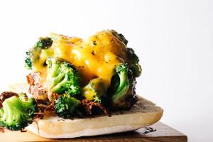 broccoli cheddar burger - www.iamafoodblog.com