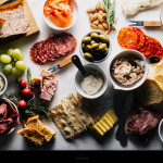 meat and cheese board - www.iamafoodblog.com