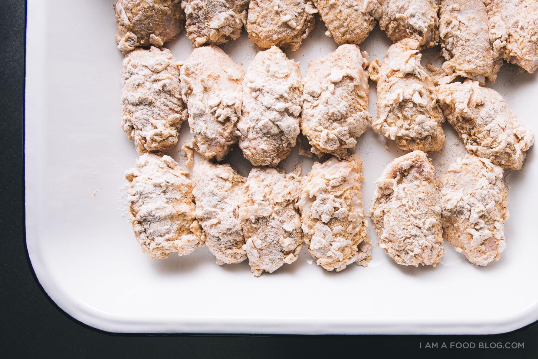 buttermilk fried chicken wings recipe - www.iamafoodblog.com