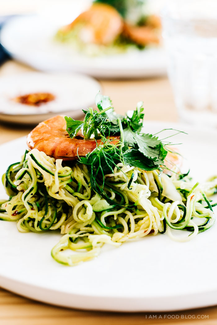shrimp and zucchini noodles recipe - www.iamafoodblog.com