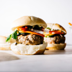 turkey banh mi burger recipe - www.iamafoodblog.com