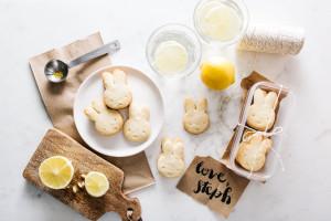 lemon shortbread recipe - www.iamafoodblog.com