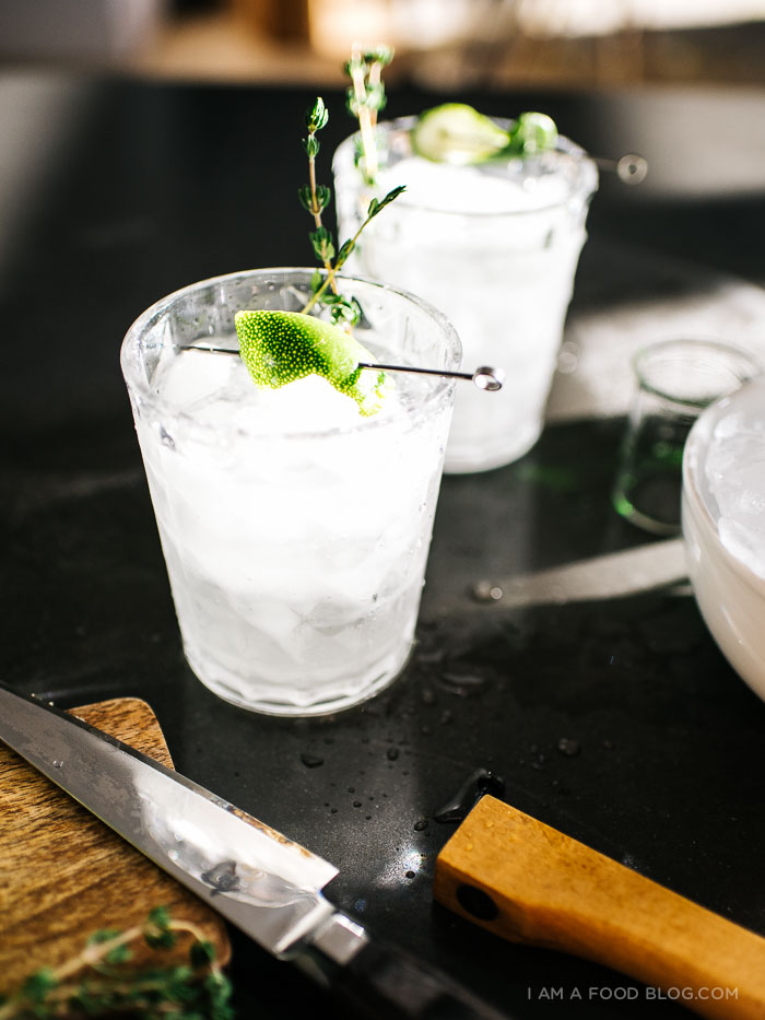 Thyme for Gin & Tonics · i am a food blog i am a food blog