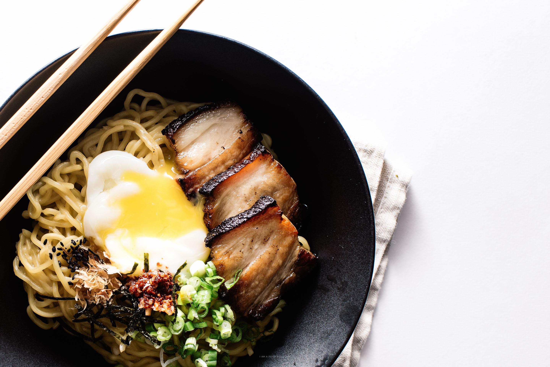 bacon and egg ramen recipe - www.iamafoodblog.com
