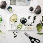 avocado totoro soot sprite onigiri - www.iamafoodblog.com