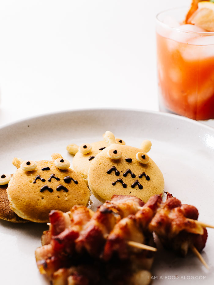 how to make a totoro breakfast - www.iamafoodblog.com