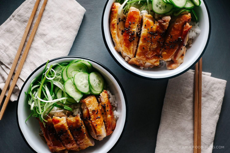 teriyaki chicken recipe - www.iamafoodblog.com